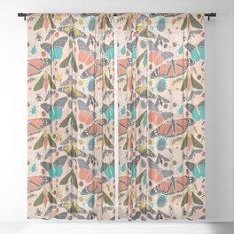 Summer Garden Sheer Curtain