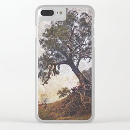 Olden Tree Clear iPhone Case