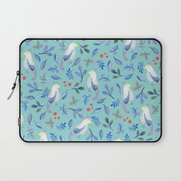 Blue Bird in Watercolour Laptop Sleeve