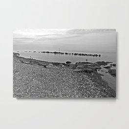 Silent Summer Moment on the Isle of Ruegen   Metal Print