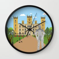 knight Wall Clocks featuring Knight by Design4u Studio