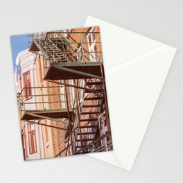 Old Quebec - Stairs Stationery Cards