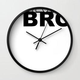Righteous Bro Wall Clock
