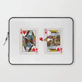 The King knows what the heart wants. Laptop Sleeve