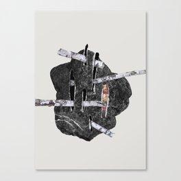 Trees Rocks pt. 3 Canvas Print