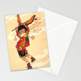 The land of the rising zine Stationery Cards