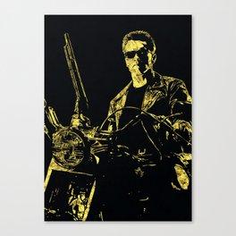 Terminator - The Legend Canvas Print
