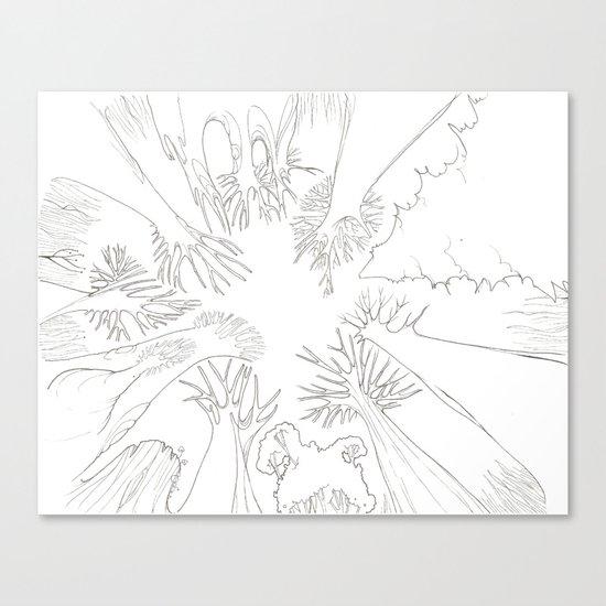 El Bosque Canvas Print