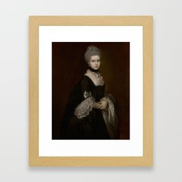 HRH THE DUCHESS OF GLOUCESTER MARY WALPOLE, DOWAGER COUNTESS WALDEGRAVE Framed Art Print
