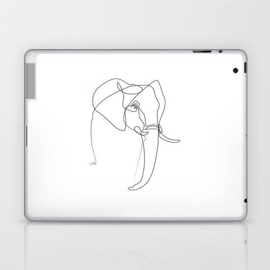 Elephant line Laptop & iPad Skin