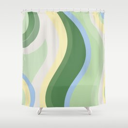 ABSTRACTLY... Shower Curtain