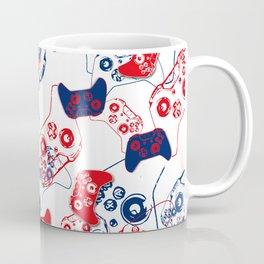 Video Game Red White & Blue 3 Coffee Mug