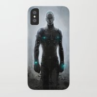 alone iPhone & iPod Cases featuring Alone by Yvan Quinet