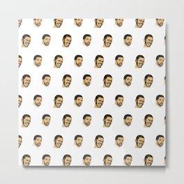 Drake Pattern Metal Print