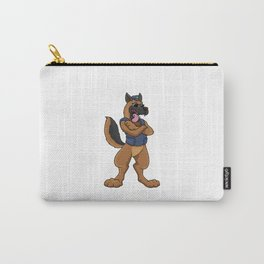 Beautiful dog as a police officer Carry-All Pouch