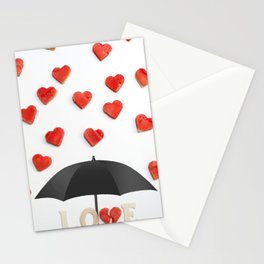 BUT ONLY LOVE CAN BREAK YOUR Stationery Cards