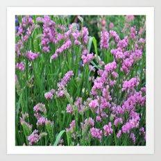 flowers lilec# Art Print