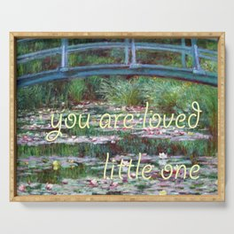 "monet ""you are loved little one"" ed 2 Serving Tray"
