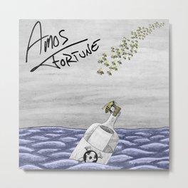 Amos Fortune Bees & Seas Metal Print