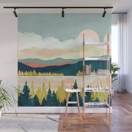 Lake Forest Wall Mural