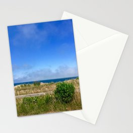 Sconset Lighthouse View in Nantucket Stationery Cards
