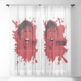 Psycho Sheer Curtain