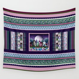 Moondale Sampler Wall Tapestry