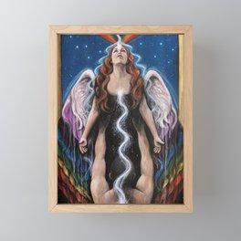Love Ascending Framed Mini Art Print