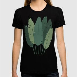 Cat and Plant 18 T-shirt