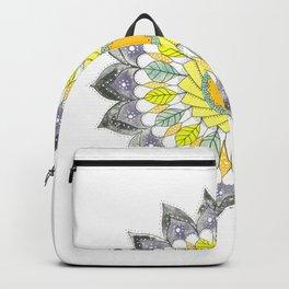 little leaf mandala Backpack