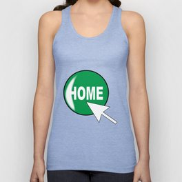 Computer Icon Home Unisex Tank Top