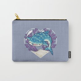 NOM the Whale Shark Carry-All Pouch