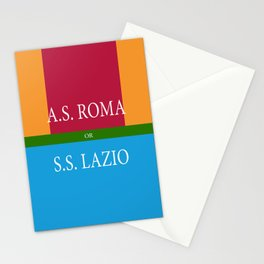 A.S.ROMA or S.S. LAZIO Stationery Cards