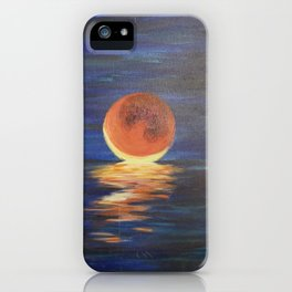 Moon Over My Sanity 2018 iPhone Case