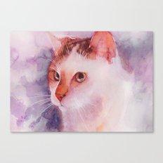 Soft fur Canvas Print