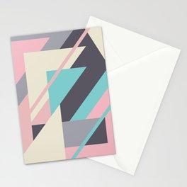 Delicious retro geometric Stationery Cards