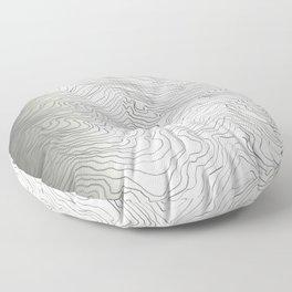 Brain Wave Floor Pillow