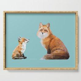 Fox Tenderness Serving Tray