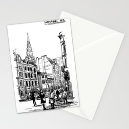 Sketch from London 02 Stationery Cards