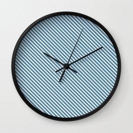 Niagara Stripe Wall Clock