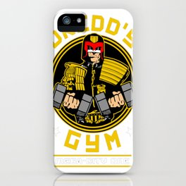Iam the law - Gym iPhone Case