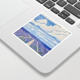 Lavender Fields Forever  Sticker