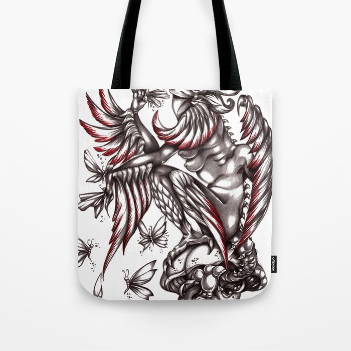 Butterfly's diet Tote Bag