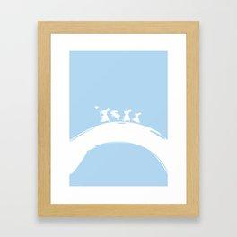 Circle of Zen Framed Art Print