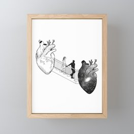 The way i loved your fantasy. Framed Mini Art Print