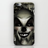 pennywise iPhone & iPod Skins featuring A Penny for your Thoughts by Texnotropio