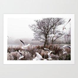 So cold Art Print
