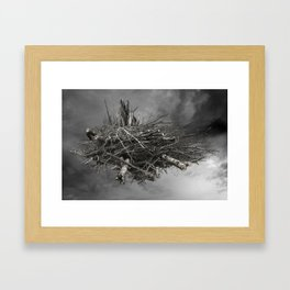 HIGH WOOD Framed Art Print