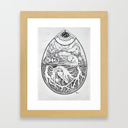 Biflorus Framed Art Print