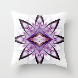 Mandala Petals Throw Pillow